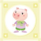 Porco do bebê ilustração royalty free