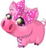 Porco do encanto Foto de Stock