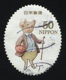 Porco do selo na roupa Fotografia de Stock