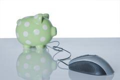 Porco-E-banco Imagem de Stock Royalty Free
