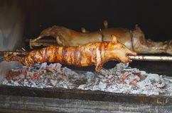 Porco grelhado Porco Roasted foto de stock royalty free