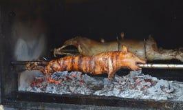Porco grelhado Porco Roasted fotos de stock