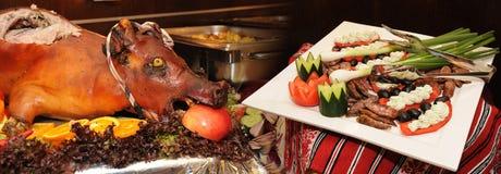 Porco Roasted Fotos de Stock Royalty Free