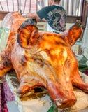 Porco roasted assado Imagens de Stock Royalty Free