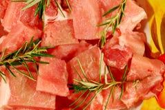 Porco tagliato Fotografia Stock