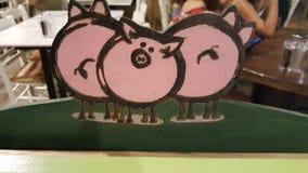 Porcs doux de Grèce Images libres de droits