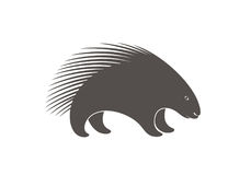 Porcupine Abstract. Vector Illustration. illustration EPS Stock Photography