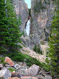 Porcupine Falls of Wyoming Royalty Free Stock Photo