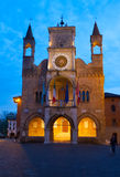 Pordenone city hall Stock Photography
