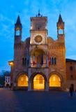 Pordenone city hall Stock Photography