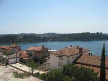 Poreč -small vilage. Amazing landscape at Poreč -small vilage at north croatia Royalty Free Stock Photo