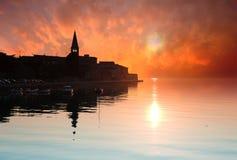 Porec, Κροατία Στοκ Εικόνα