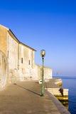 Porec - παλαιά αδριατική πόλη, περιοχή Istria. Δημοφιλές tou Στοκ Εικόνα