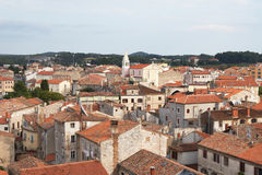 Porec. Croatia, Porec. View overlooking the town Royalty Free Stock Image
