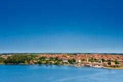 Porec, adriatische Stadt in Kroatien Stockbild