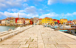 ROVINJ - Croatia. Old Istrian town in ROVINJ, Croatia Royalty Free Stock Images