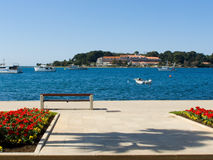 Porec - Croatia royalty free stock photography