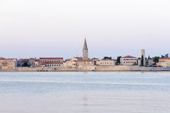 Porec in the dawn sun Royalty Free Stock Image