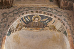 Porec Euphrasian Basilica interior, Croatia Royalty Free Stock Photo