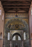 Porec Euphrasian Basilica interior, Croatia Royalty Free Stock Images