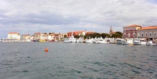 Porec-Hafen Stockbilder