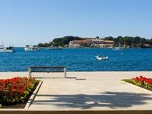 Porec - il Croatia Fotografia Stock Libera da Diritti
