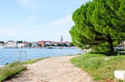 Porec, istria, Croatia on a hot sunny day Stock Image