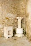 Porec on Istria peninsula. Euphrasian Basilica - UNESC Royalty Free Stock Image
