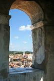 Porec, Kroatien Stockfotografie