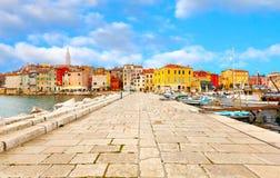 Porec - la Croazia Immagini Stock Libere da Diritti