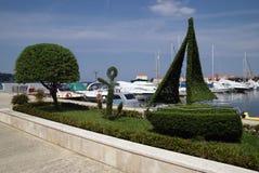 Porec marina in Croatia Stock Photos