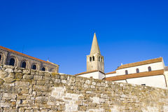 Porec - old Adriatic town in Croatia. Stock Photography