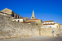 Porec - old Adriatic town in Croatia, Istria region. Royalty Free Stock Photography