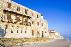 Porec - old Adriatic town in Croatia, Istria. Royalty Free Stock Photo