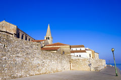 Porec - old Adriatic town Royalty Free Stock Images