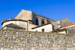 Porec - old Adriatic town in Croatia, Istria. Royalty Free Stock Photography