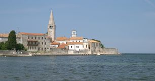 Porec (Parenzo), Istra, Croatia Royalty Free Stock Photo