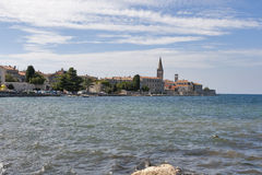 Porec seafront Stock Photography
