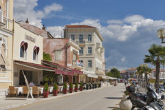 Porec seafront, Croatia Royalty Free Stock Images