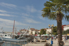 Porec seafront, Croatia Stock Photo