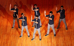 Poreotix group dance at Hip Hop International cup Stock Photo