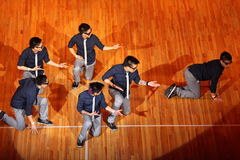 Poreotix team dance at Hip Hop International cup Royalty Free Stock Images