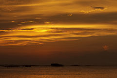 Pores do sol Fotos de Stock