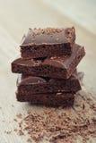 Poreuze chocolade Royalty-vrije Stock Afbeelding