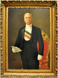Porfirio Diaz. Original painting of Mexican President Porfirio Diaz, which ruled for over 30 years and was the reason by which Mexican Revolution started 100