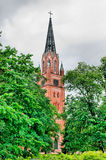 Pori. Finland. Central lutheran church Royalty Free Stock Images