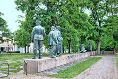 Pori. Finland. War memorial Royalty Free Stock Images