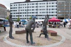 Pori. Finlandia Imagen de archivo libre de regalías