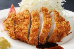 Pork. Chinese food on the table stock photos