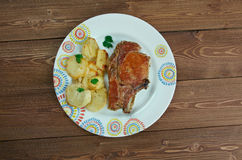 Pork baked  Loins Royalty Free Stock Photography